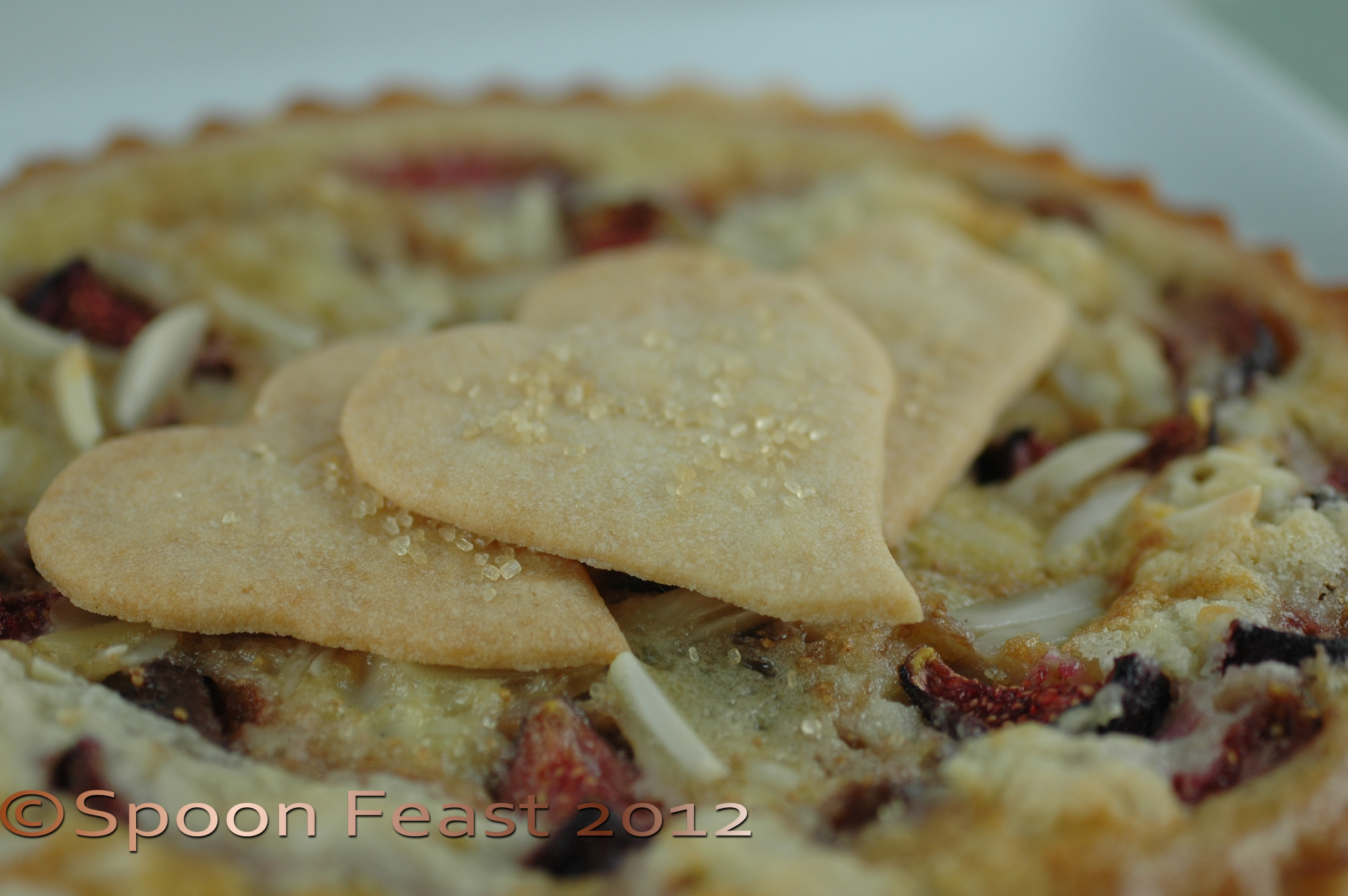Fig and Almond Custard Tart (Click to visit recipe)