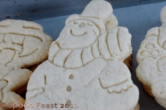 Impressed snowmen