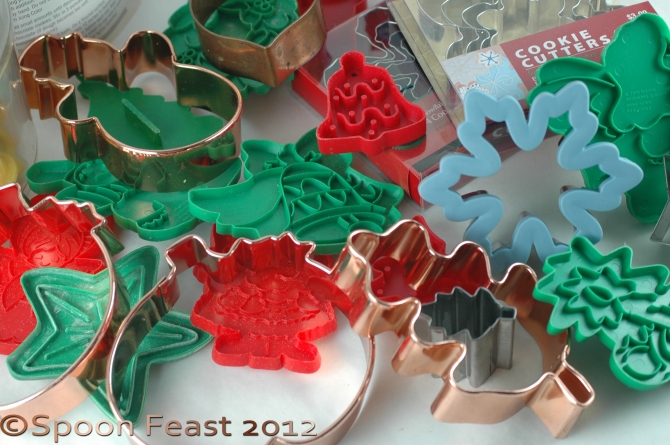 All kinds of cookie cutters