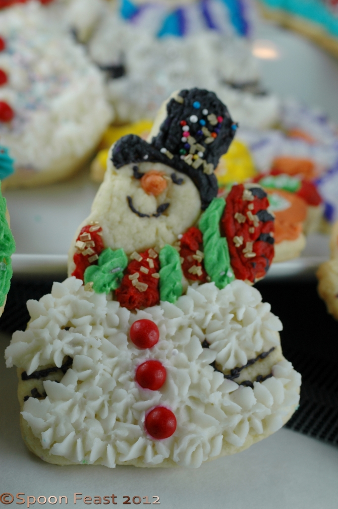 One of the snowmen