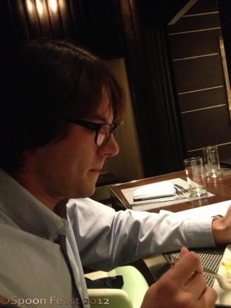 Tyler at dinner