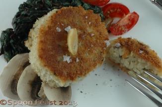 Mushroom Arancini
