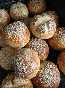 Seeded Sandwich Rolls