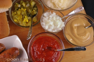 Homemade Ketchup, Mustard and Relish