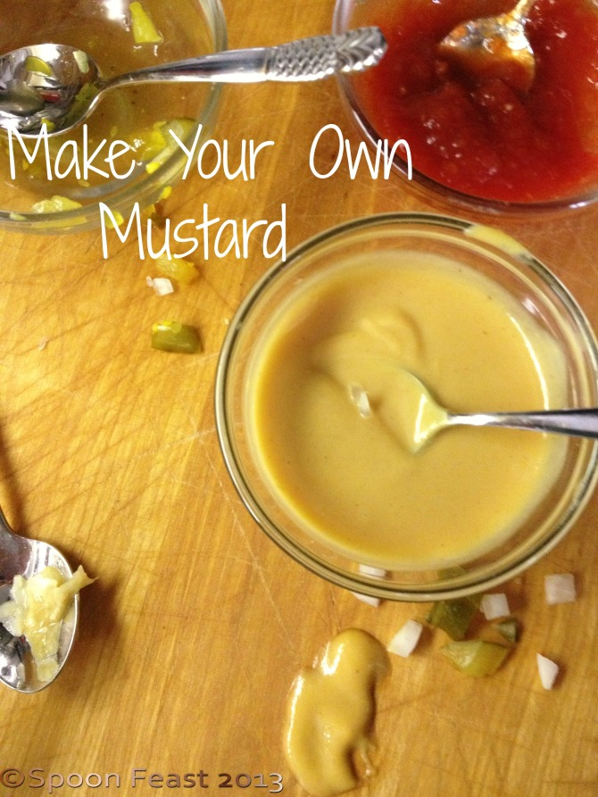 Make Your Own Mustard