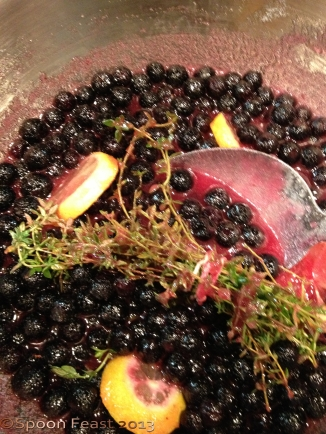 Blueberry, Lemon and Thyme Jam