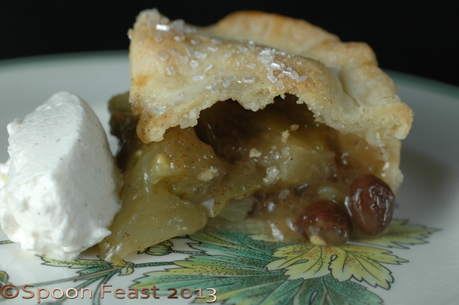 A delicious Green Tomato Pie
