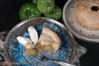 Another delicious slice of Green Tomato Pie