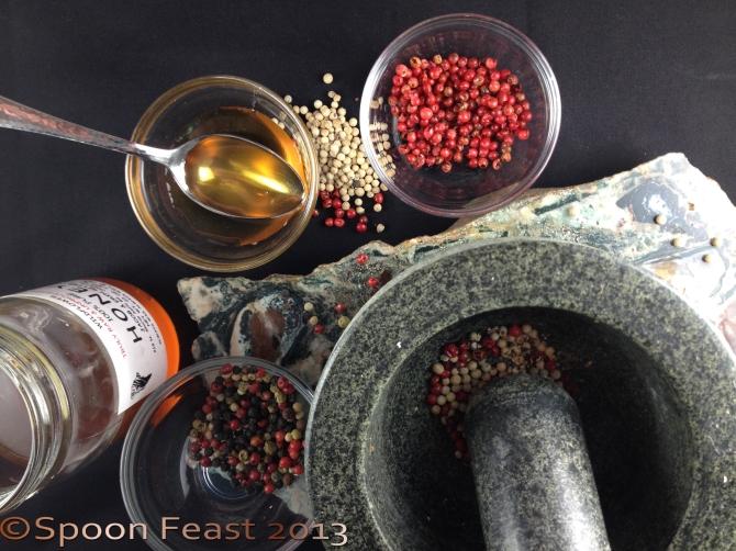 Honey Peppercorn Vinaigrette