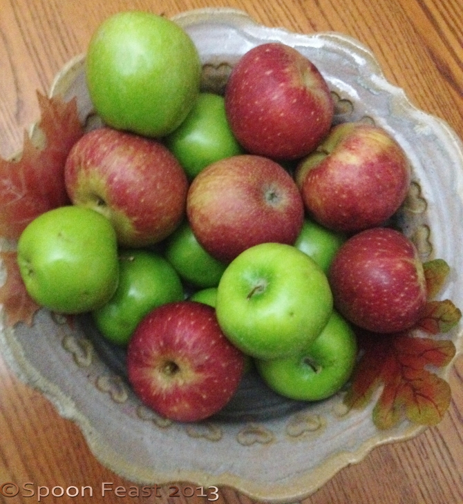 Fresh Crisp Fall Apples
