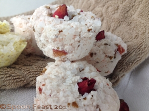 Chai Rose Herbal Bath Fizzy