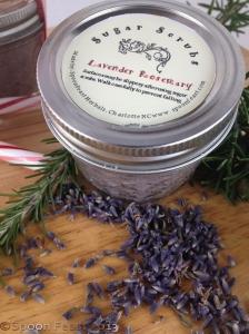 Lavender Rosemary Sugar Scrub