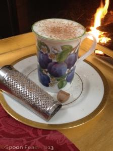 Warm and cozy Nutmeg Milk