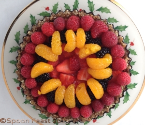 Nut Crusted Fresh Fruit Tart