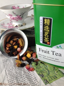 Chinese Fruit Tea, love the label!