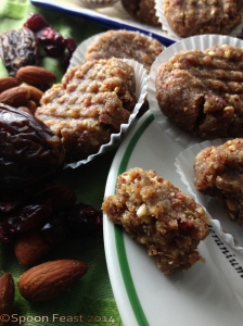 A Morsel of Almond Date Cranberry Lime Cookie