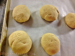 Dough balls for pita