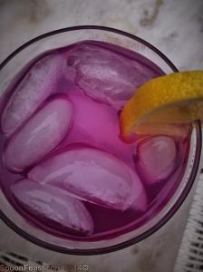 Wild Violet Lemonade