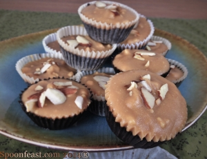 Chocolate Almond Peanut Butter Cups